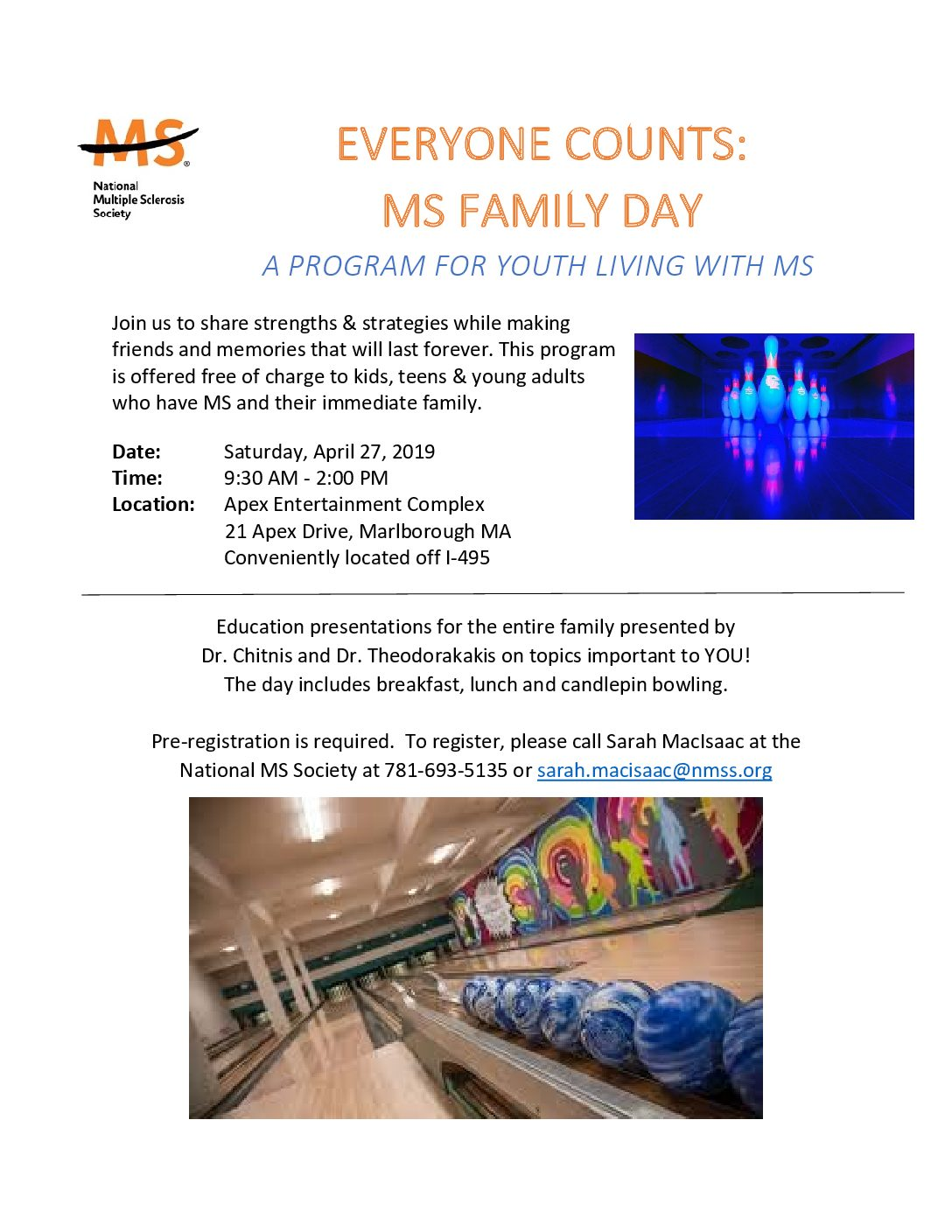 Everyone Counts: MS Family Day 2019